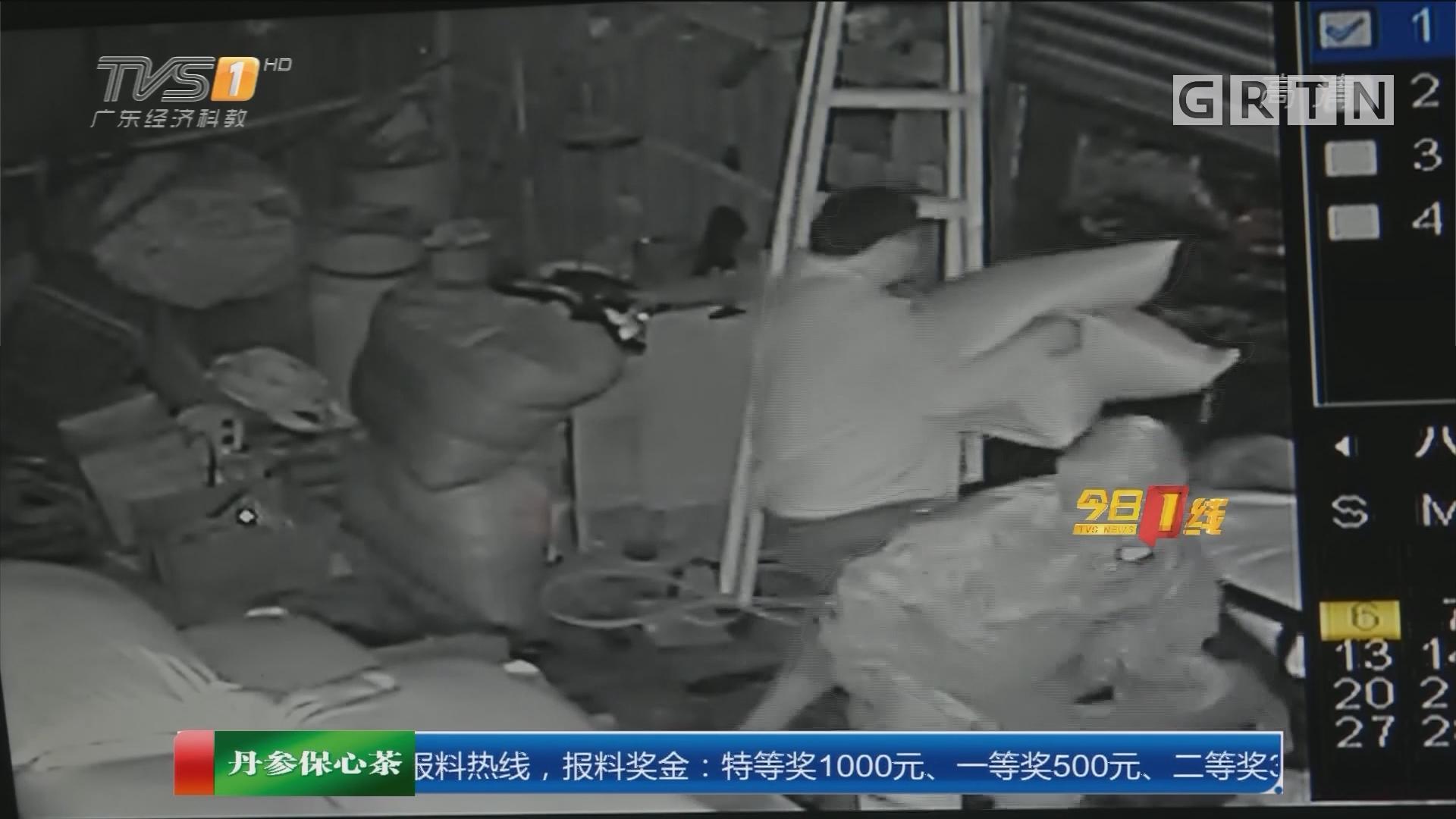 汕头澄海:蟊贼入室盗窃 盗走过万货物