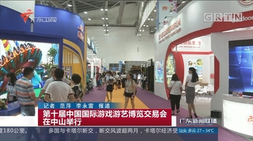 第十届中国国际游戏游艺博览交易会在中山举行