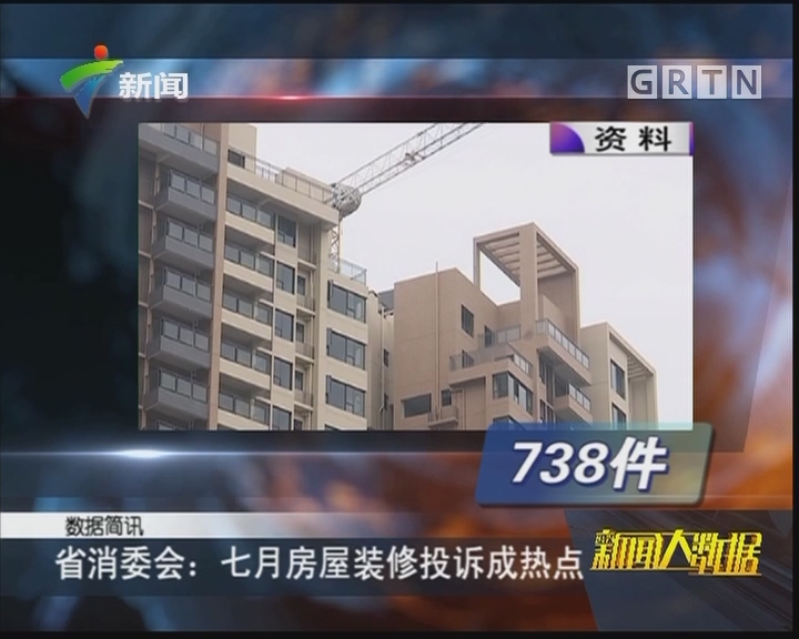 省消委会:七月房屋装修投诉成热点