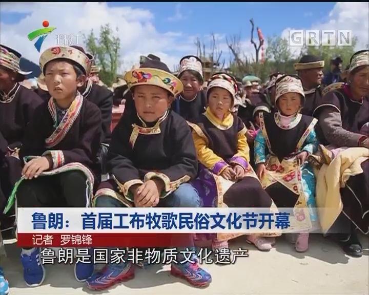 鲁郎:首届工布牧歌民俗文化节开幕