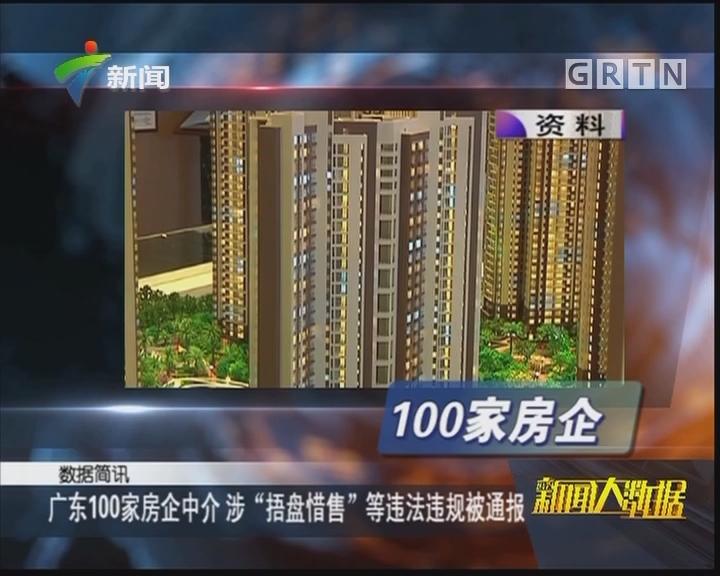 """广东100家房企中介 涉""""捂盘惜售""""等违法违规被通报"""