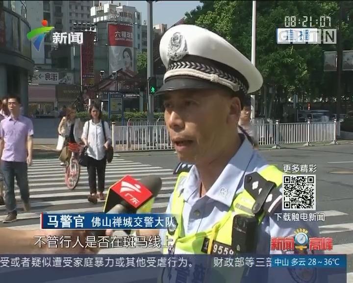 广东:严查机动车不礼让斑马线行为
