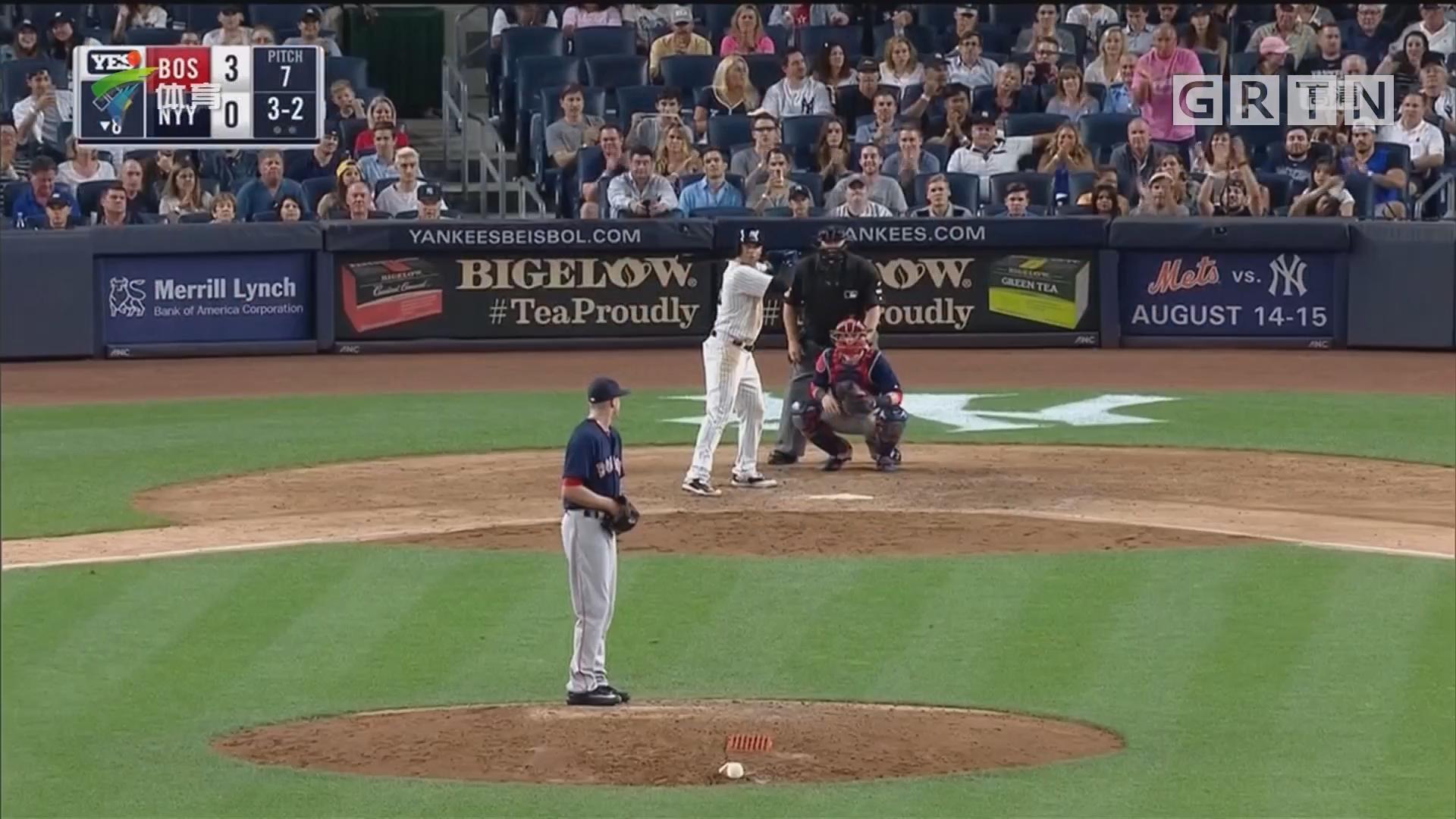 美职棒 纽约洋基逆转波士顿红袜