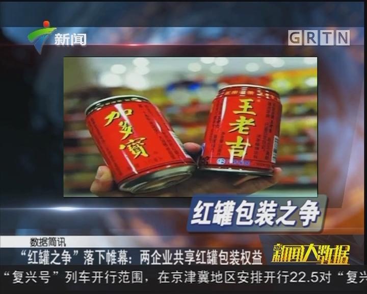 """""""红罐之争""""落下帷幕:两企业共享红罐包装权益"""