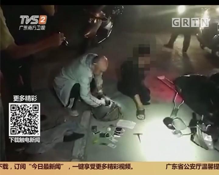 """江门新会:""""单腿小偷""""专盗女装摩托车"""