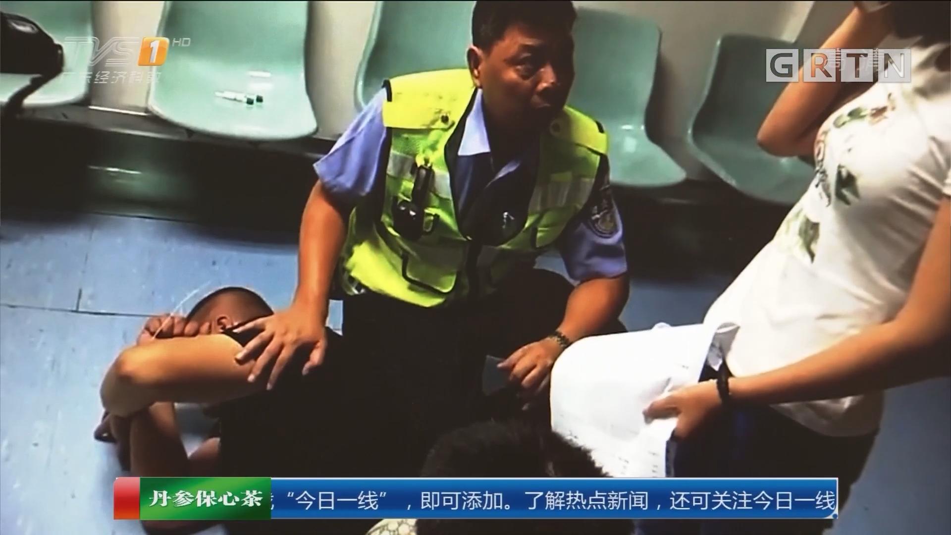 中山东区:男子驾车撞坏消防栓 大闹医院拒测酒精