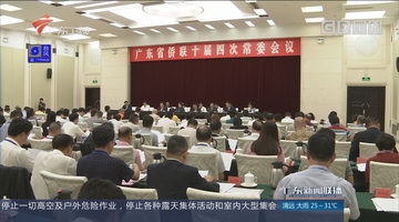 广东省侨联十届四次常委会议在广州召开