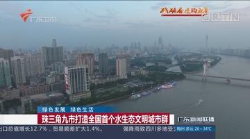 珠三角九市打造全国首个水生态文明城市群