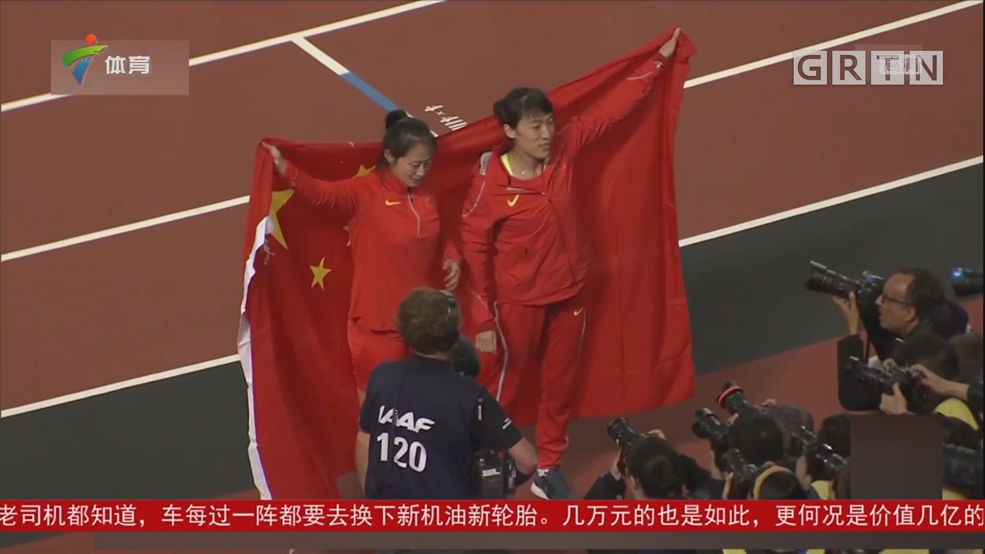 李玲蔚、吕会会分获女子标枪银牌、铜牌