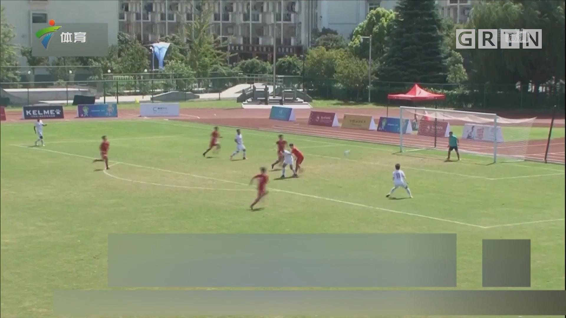 北京队收获学生运动会足球大学组男女双冠