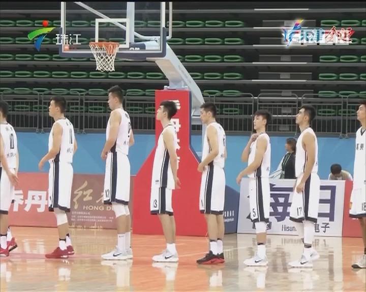 全运会男篮小组赛结束 广东全胜晋级