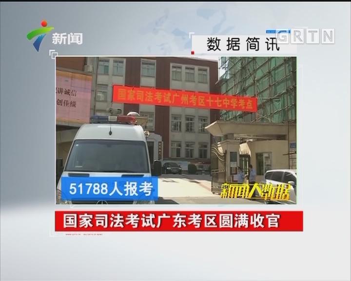 国家司法考试广东考区圆满收官