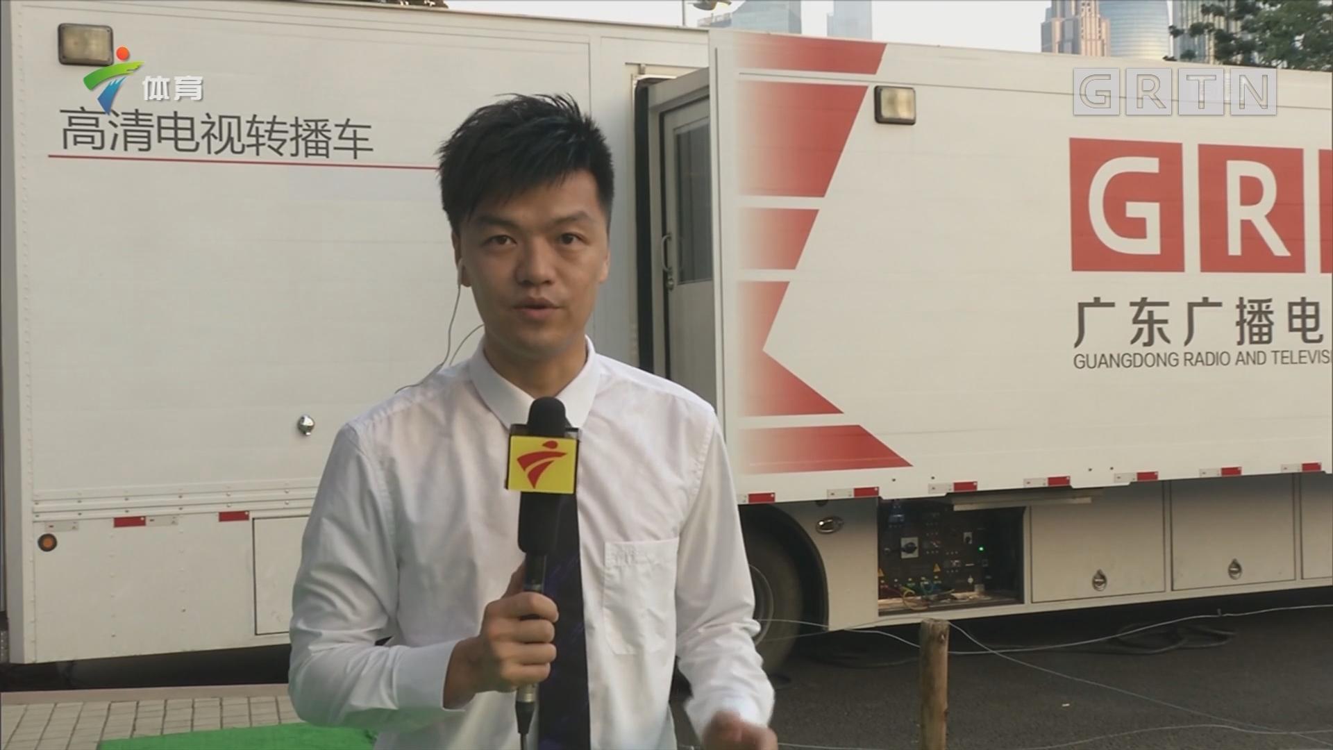 记者现场连线:恒大上港亚冠备战情况