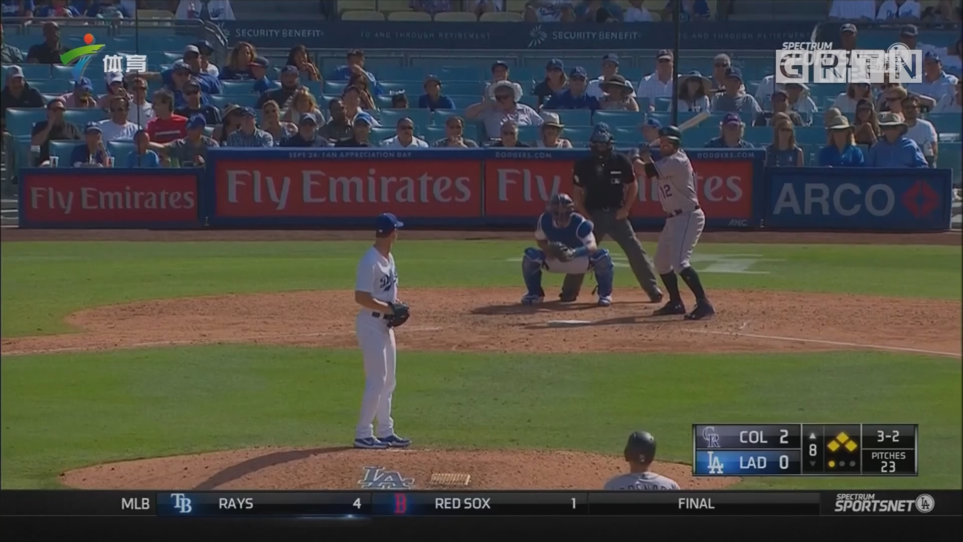 MLB 洛杉矶道奇遭遇连败