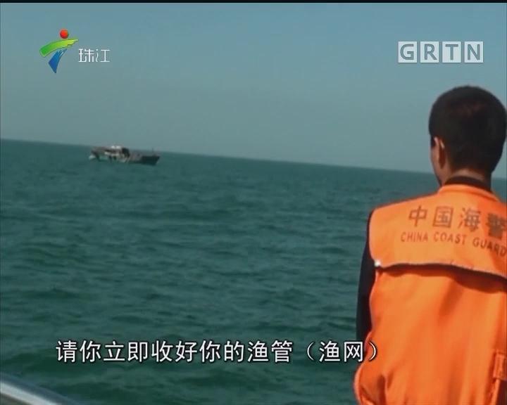 """广东海警查获越南非法务工""""渔民"""""""