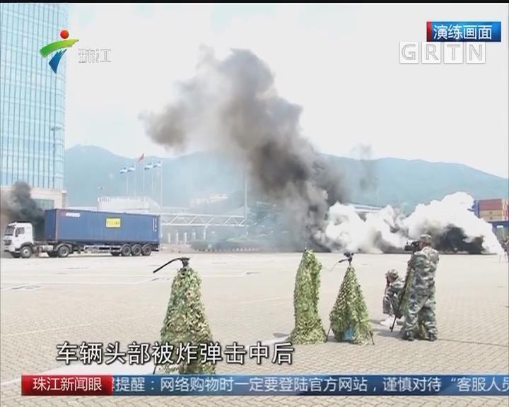 """""""九一八事变""""纪念日 深圳举行史上最大规模防空实战演练"""