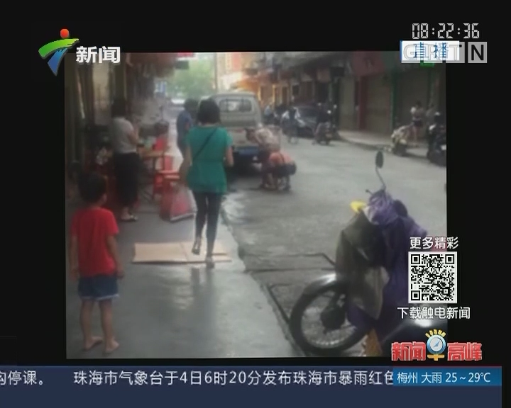 云浮:孕妇当街产子 街坊接力帮忙