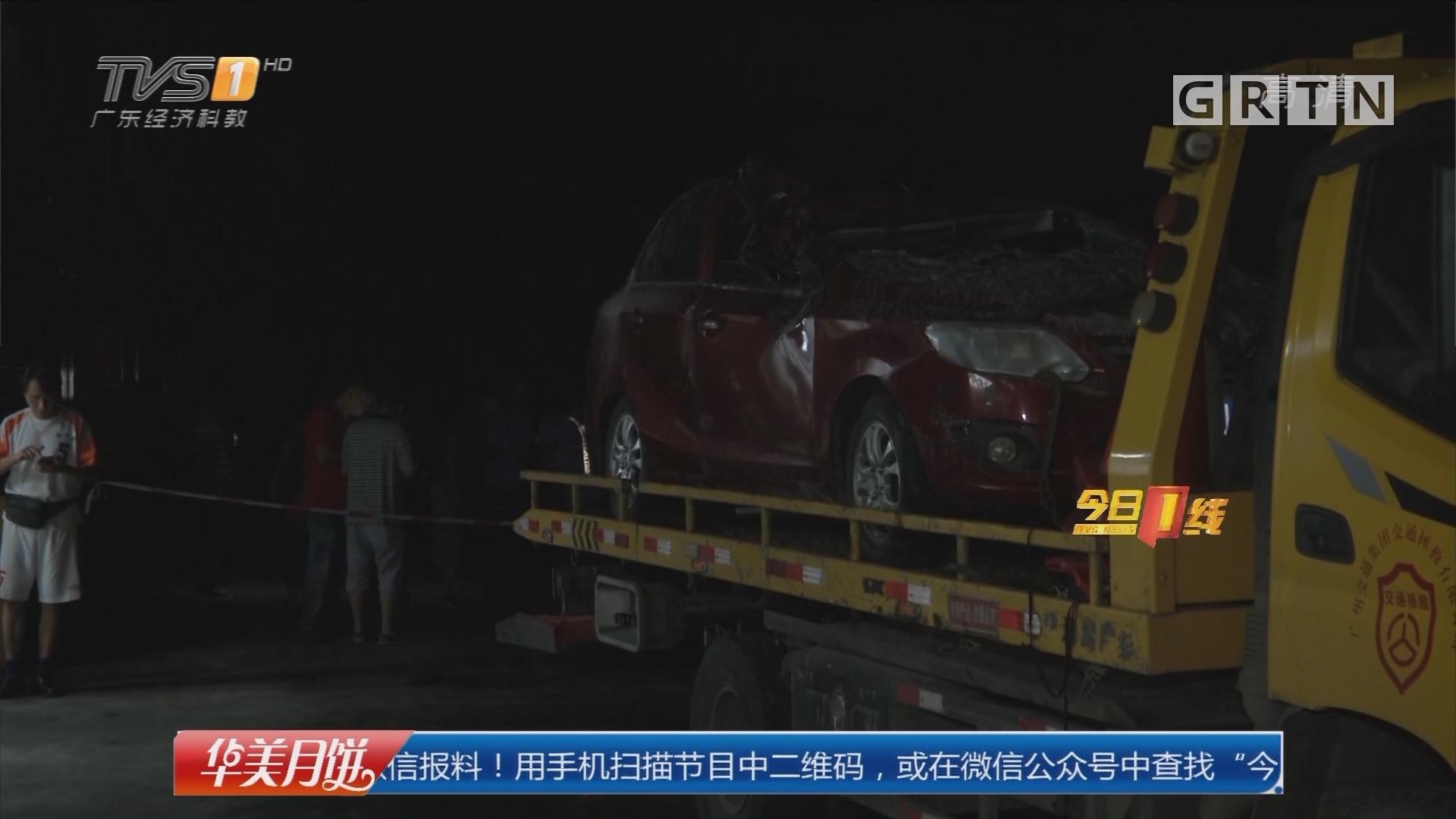 今夜最新:广州黄埔滑坡事件追踪 被掩埋小车 今夜陆续被拖出