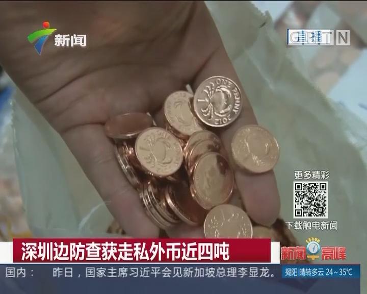 深圳边防查获走私外币近四吨