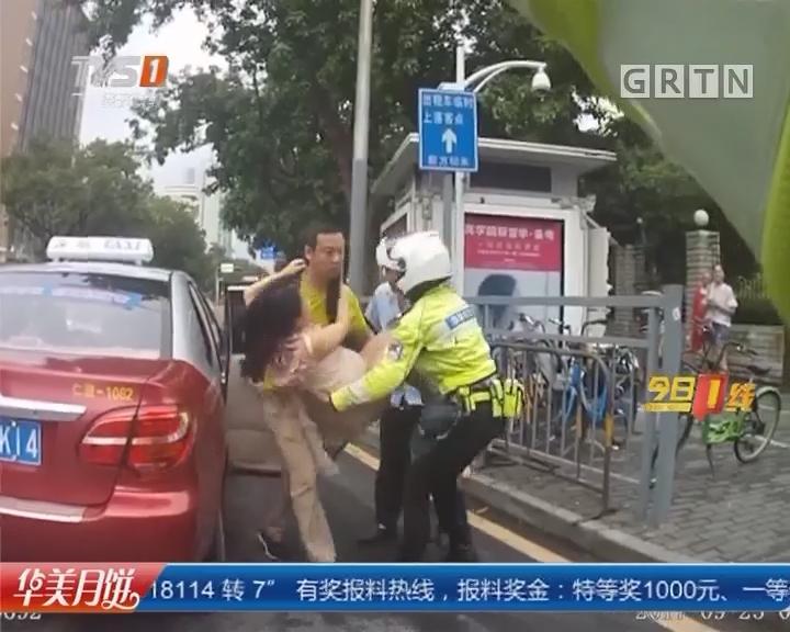 """系列专栏""""温度"""":深圳福田 孕妇临产破羊水 警民接力送医"""