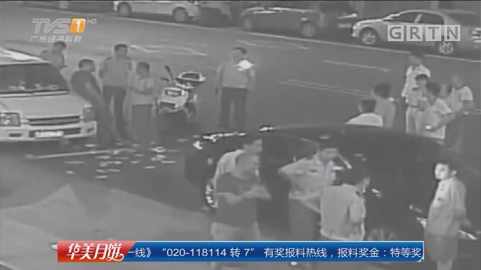 梅州五华:男子酒后撞车撒钱 涉嫌寻衅滋事刑拘