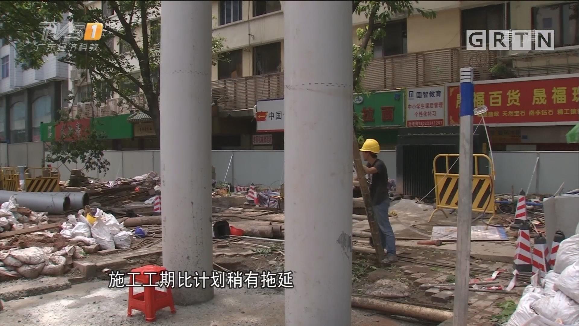 """广州福今路:""""最悲催天桥"""" 封路重建 16号或重开"""