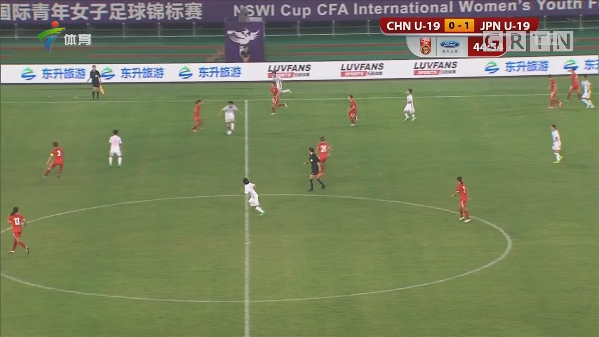 友谊赛 中国U19战平日本U19