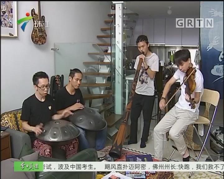 广州:街头艺人持证上岗 获街坊支持点赞