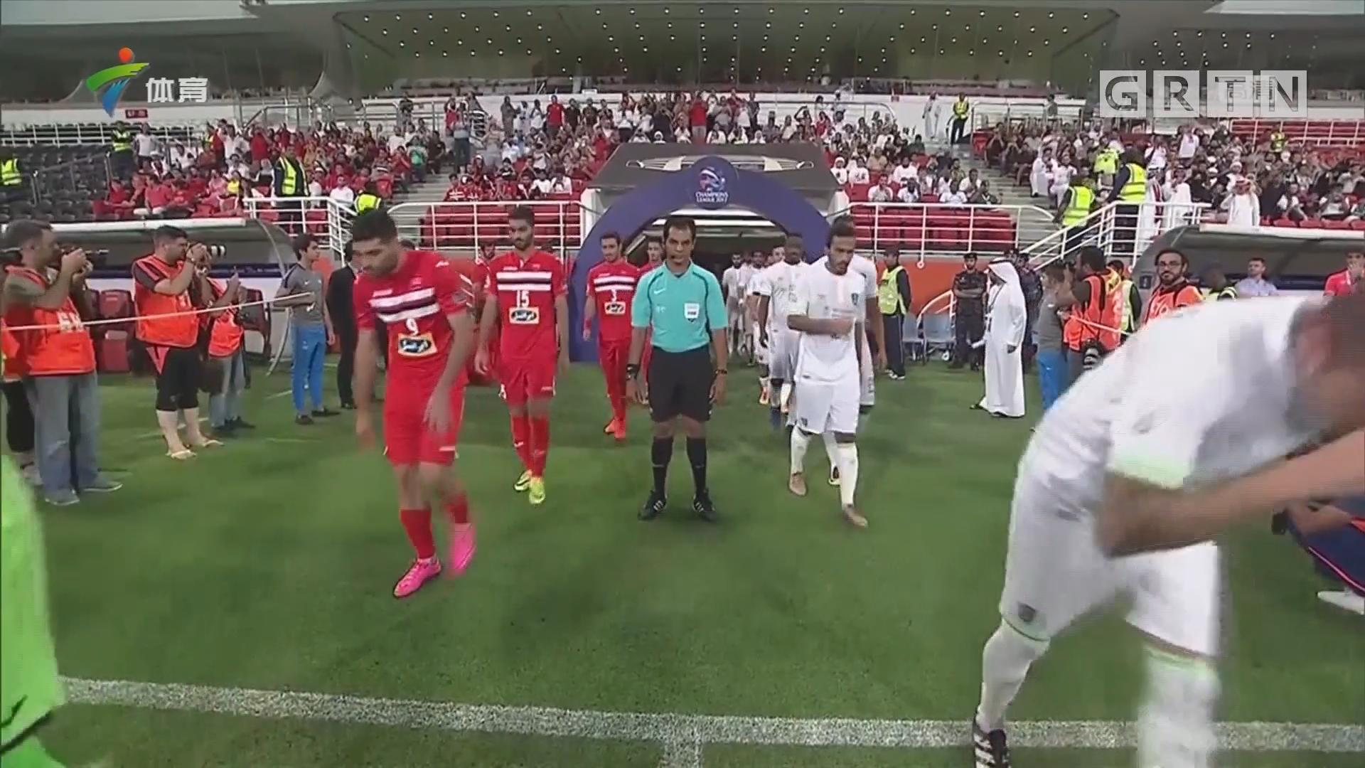 波斯波利斯晋级亚冠半决赛