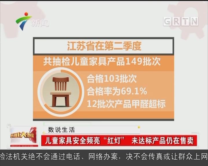 """儿童家具安全频亮""""红灯"""" 未达标产品仍在售卖"""