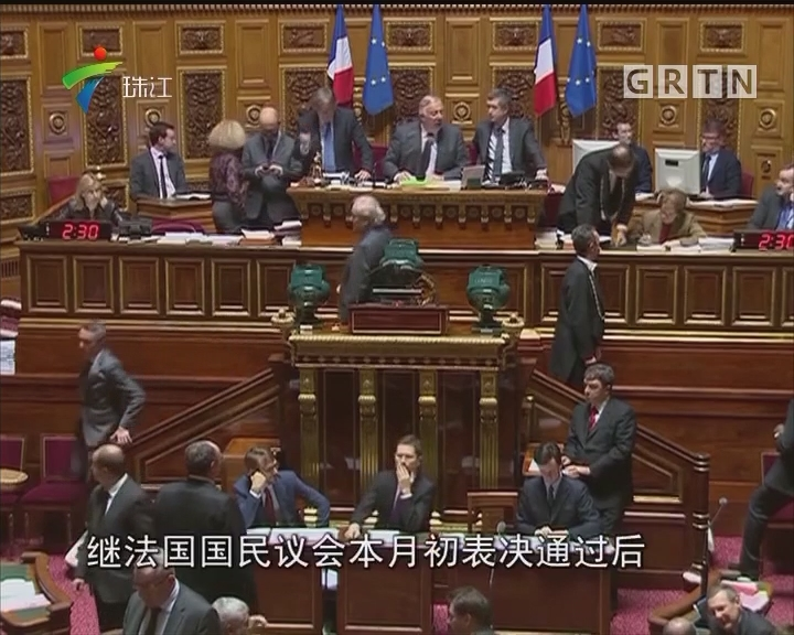 法国参议院通过新反恐法案草案