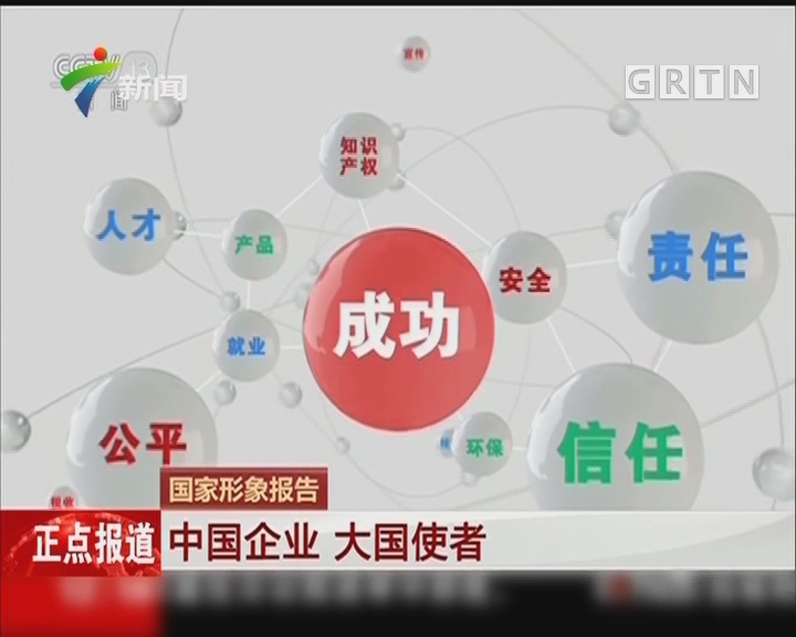 国家形象报告:中国企业 大国使者