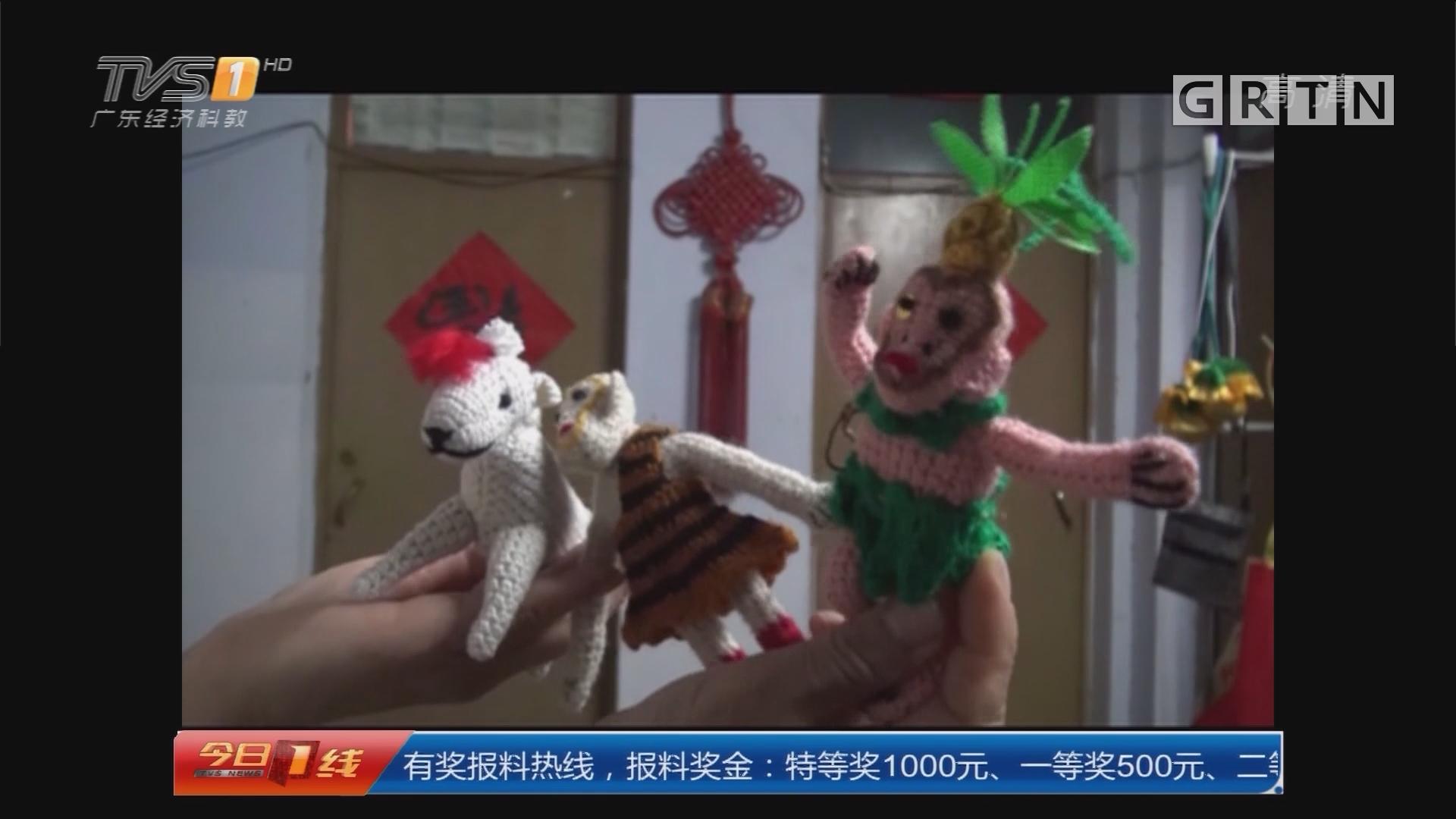 河南:达人阿姨织毛衣织出动物园王国