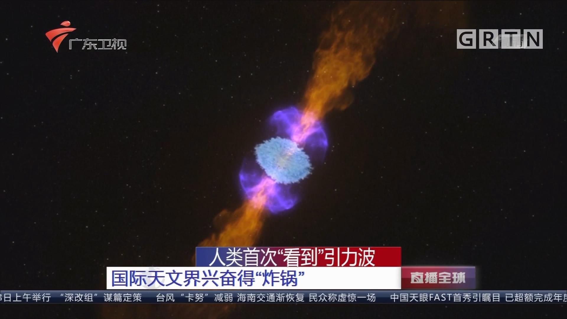 """人类首次""""看到""""引力波:国际天文界兴奋得""""炸锅"""""""
