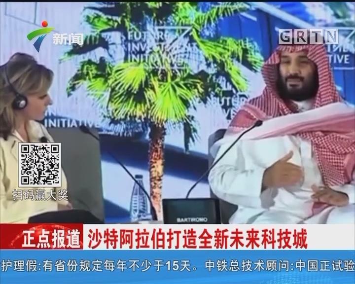 沙特阿拉伯打造全新未来科技城