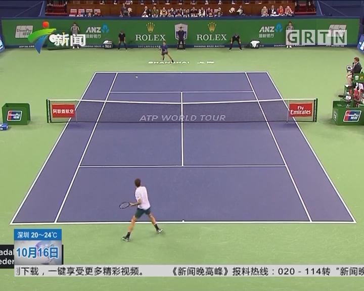 上海网球大师赛:费德勒2—0战胜纳达尔 问鼎上海大师赛