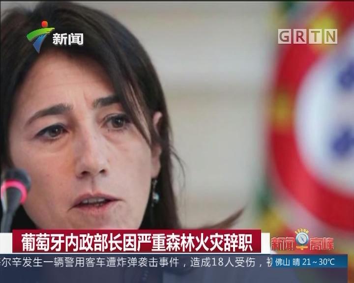 葡萄牙内政部长因严重森林火灾辞职