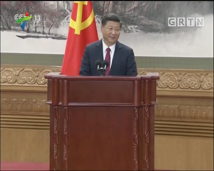 习近平在十九届中共中央政治局常委同中外记者见面时强调 新时代要有新气象更要有新作为 中国人民生活一定会一年更比一年好