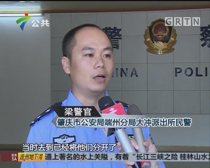 肇庆:城管队员遭暴力抗法 当事人被刑拘