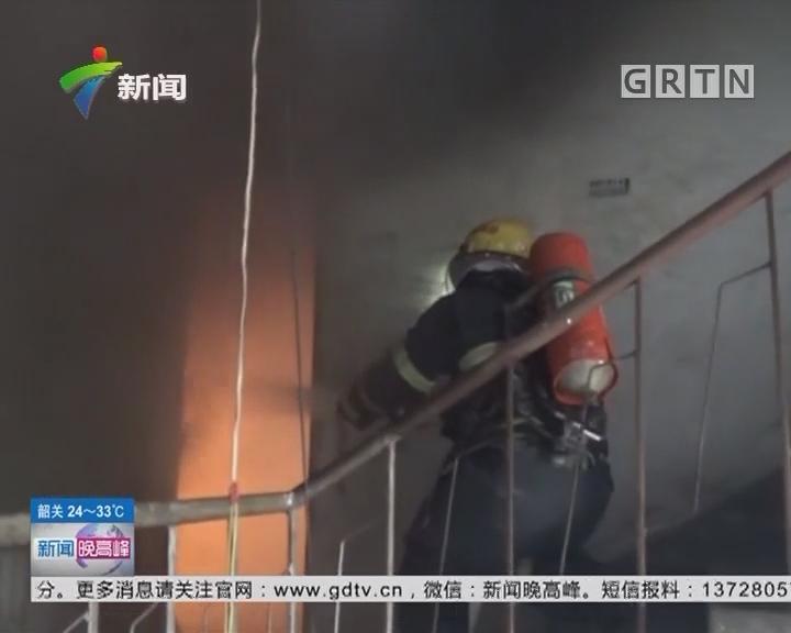 关注消防安全:江苏无锡 居民楼起火 女孩一张纸条救了5人