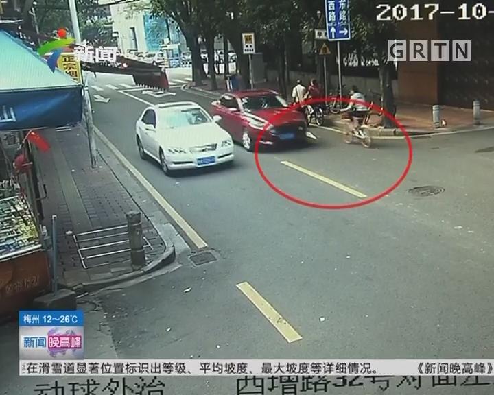 """广州警方侦破""""碰瓷""""大案:共享单车""""撞车""""诈骗 假冒警察劝事主私了"""