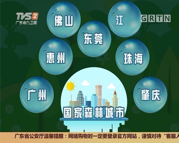 小记讲数:广东构建绿色生态发展格局