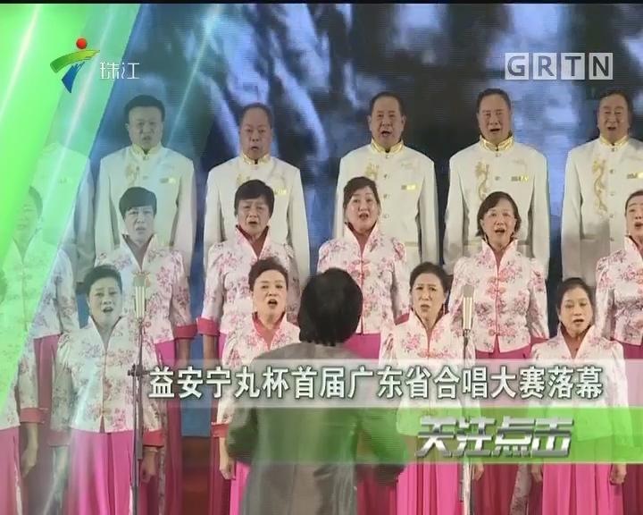 益安宁丸杯首届广东省合唱大赛落幕