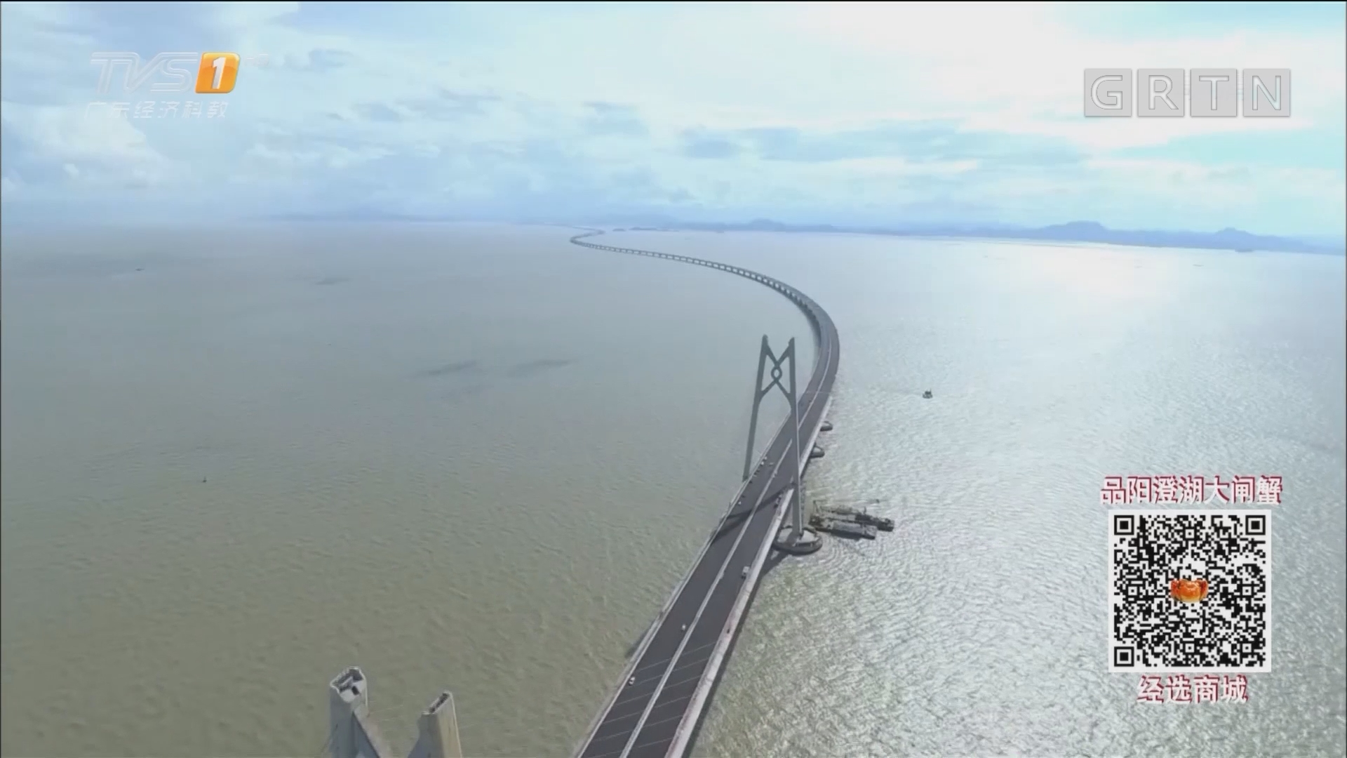 """港珠澳大桥:进入""""决战期"""" 力争年底具备通车条件"""
