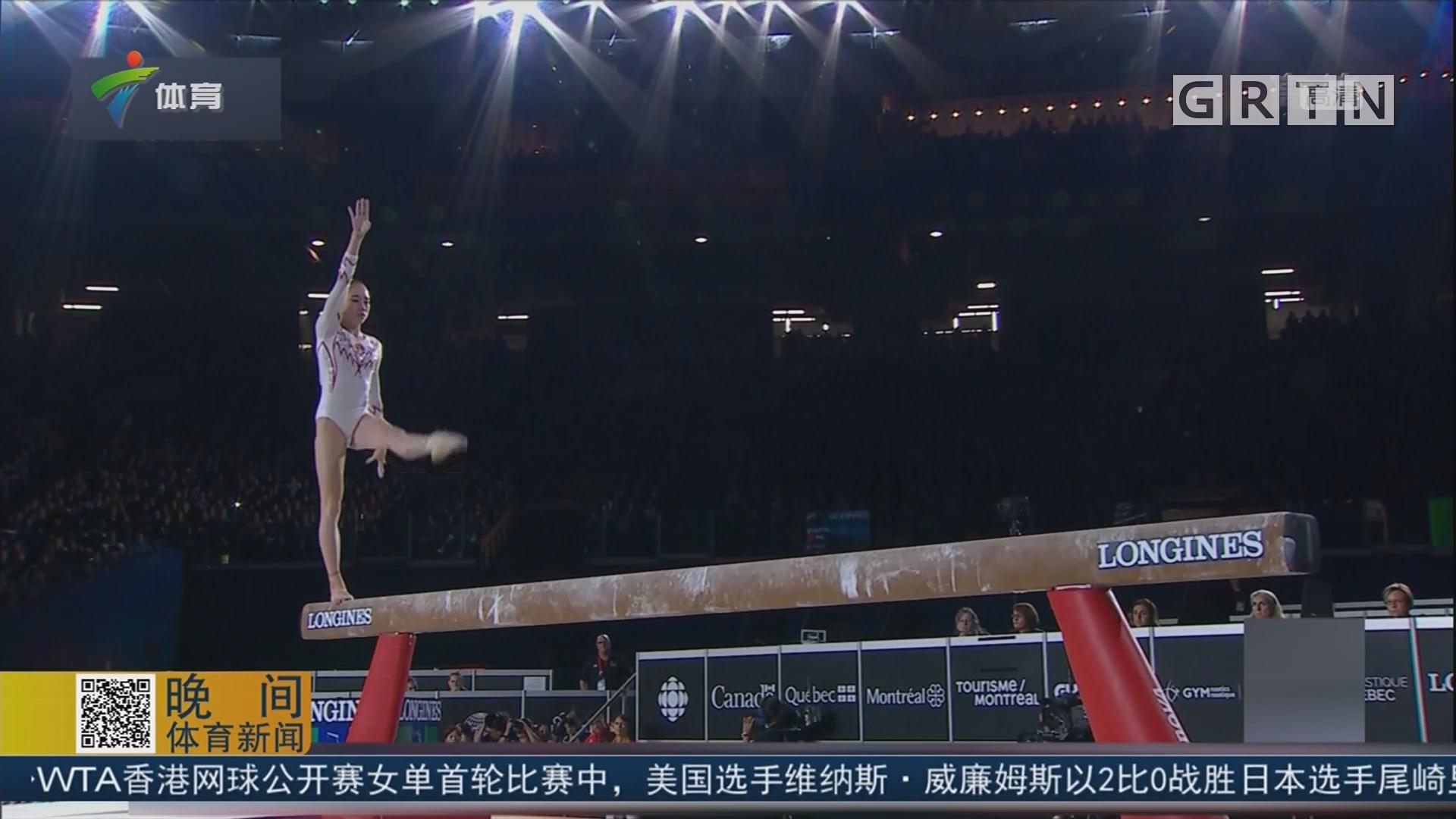 保持优势看清问题 中国体操队继续前进