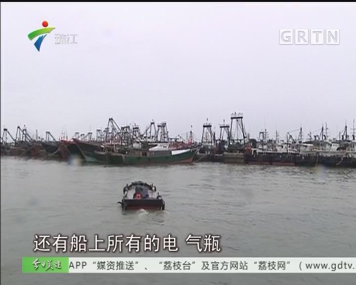 茂名博贺:2000多艘渔船回港避风