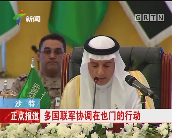 沙特:多国联军协调在也门的行动
