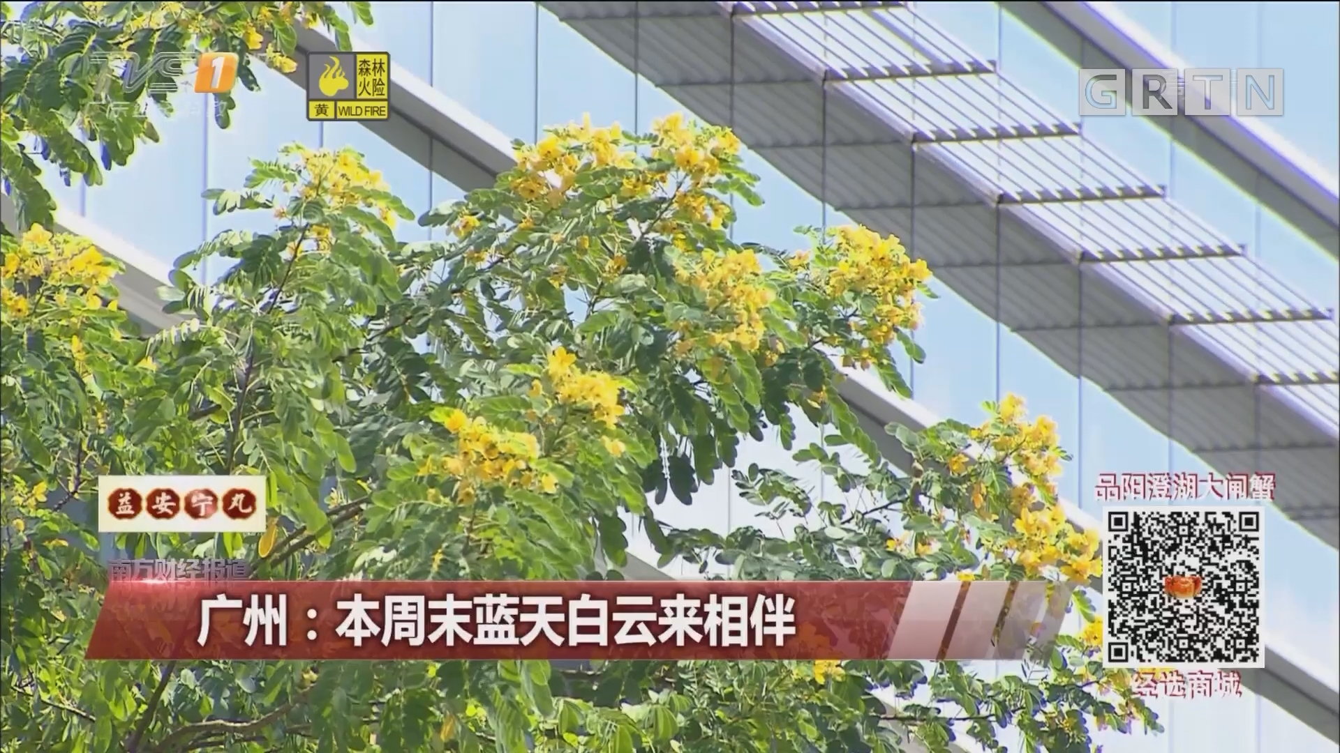 广州:本周末蓝天白云来相伴