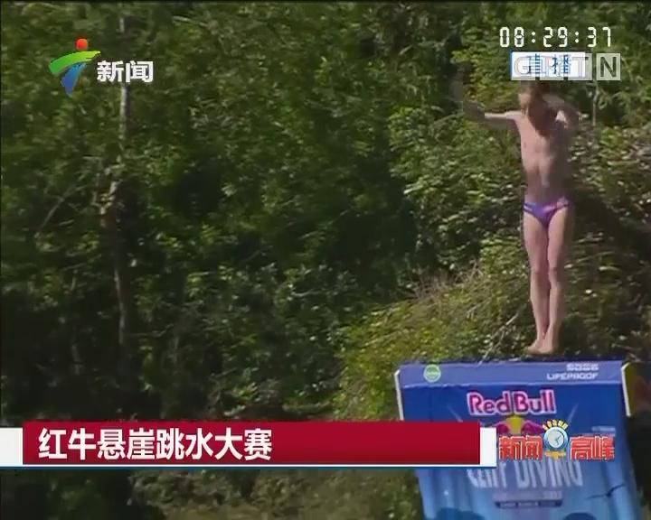 红牛悬崖跳水大赛