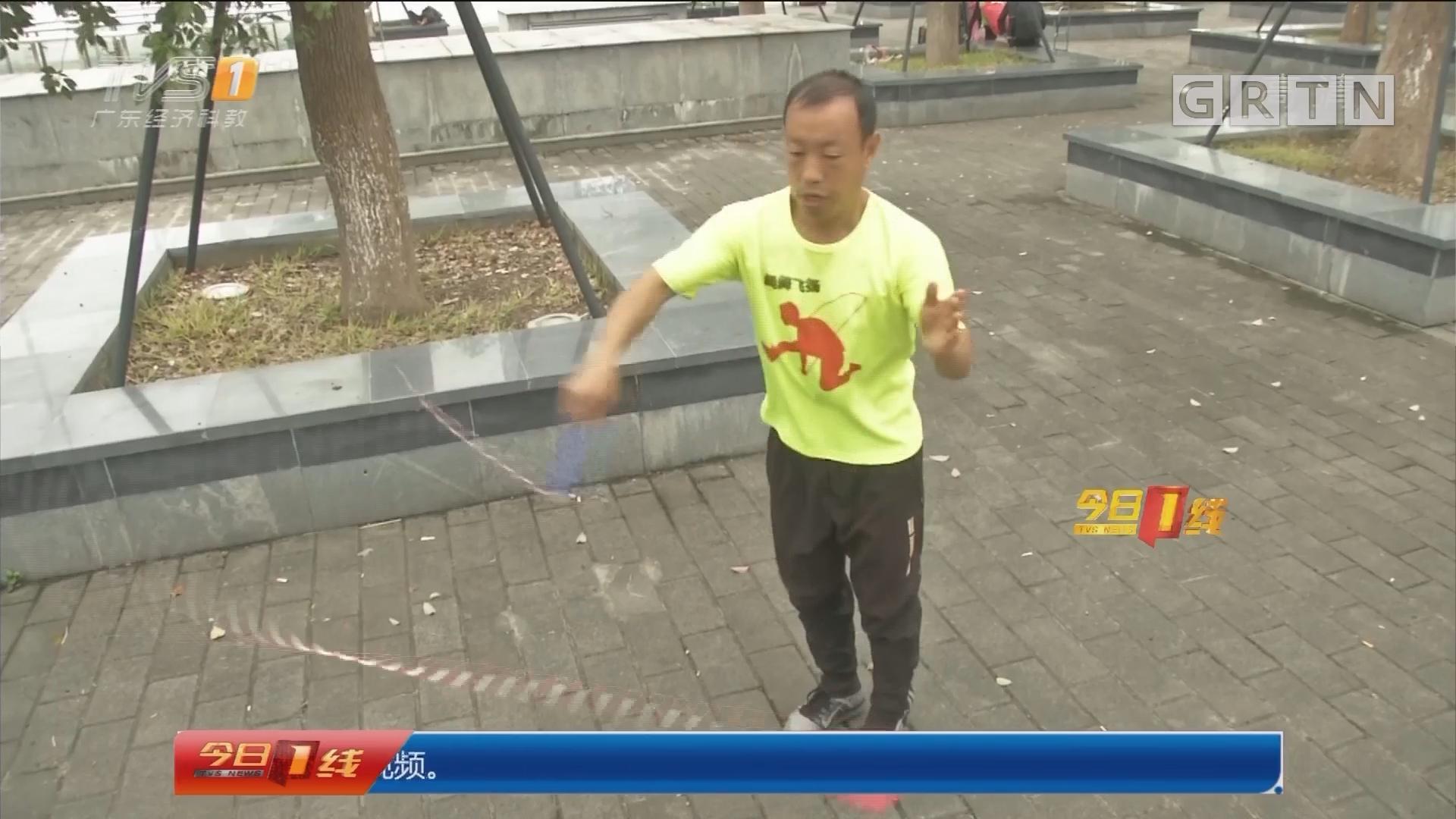 跳绳达人:花式跳绳14年 达人获奖无数